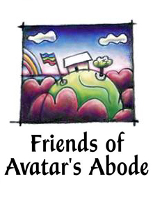 Make a donation to Friends of Avatar's Abode