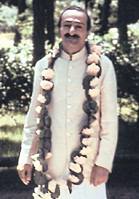 Meher Baba at the Meher Spiritual Center, Myrtle Beach, USA, 1952